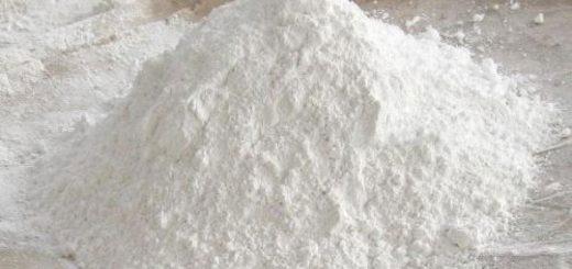 sulfato de bario mineral